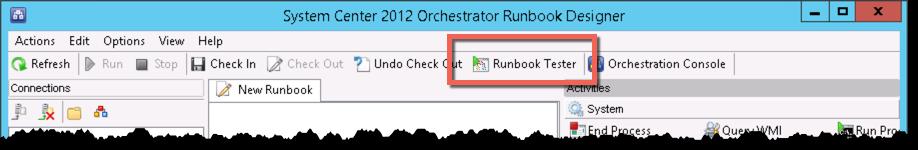 Orchestrator RunbookTester