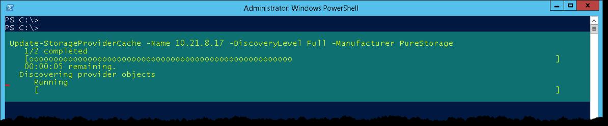 Update StorageProviderCache