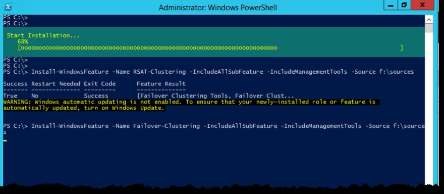 Install WindowsFeature