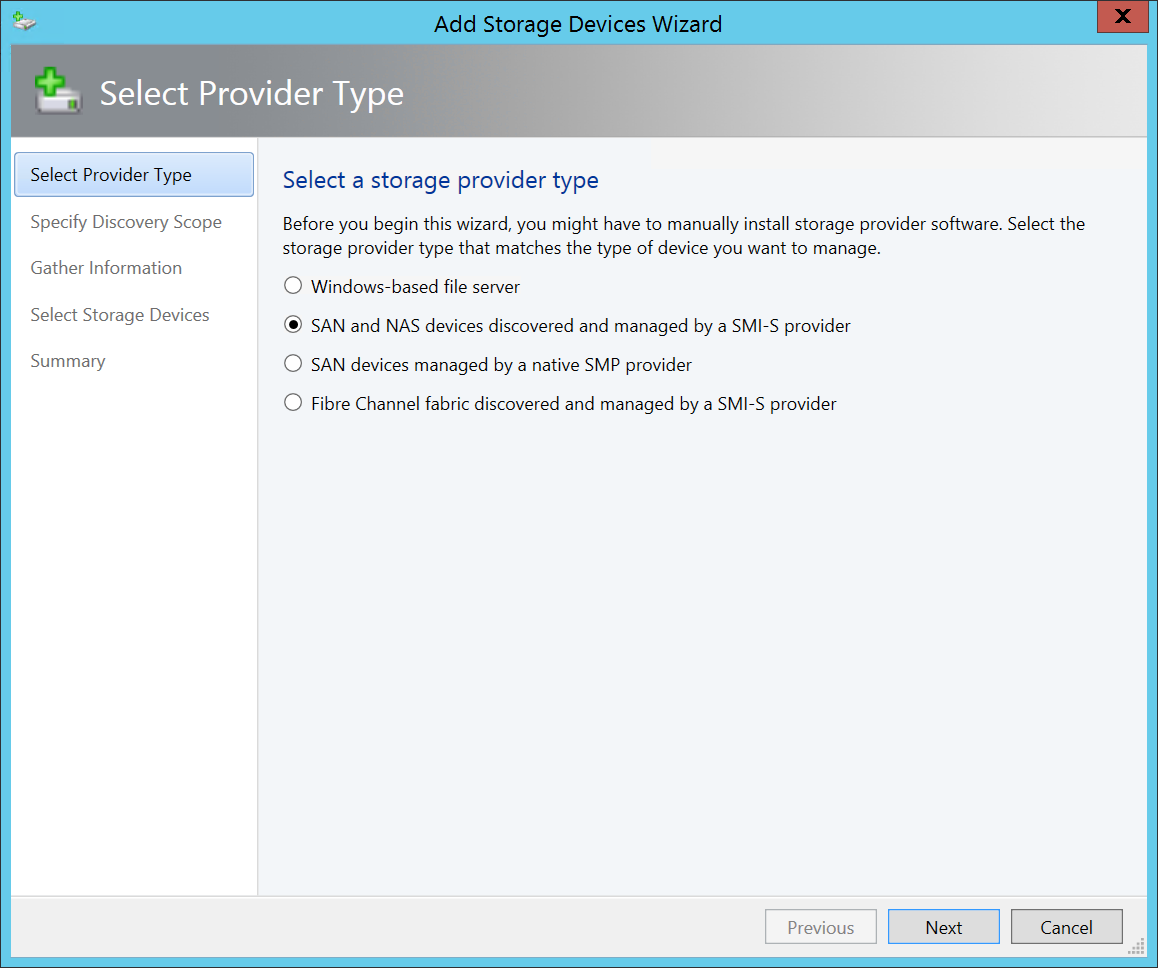 Setting up System Center Virtual Machine Manager 2012 R2 with Pure